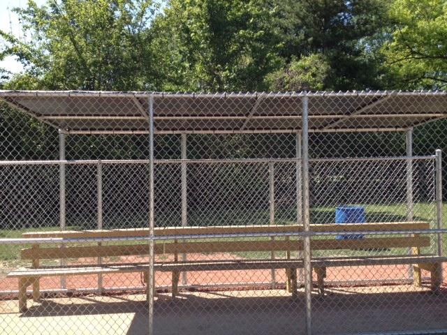 Baseball Dugout Fence Screen : Baseball dugout covers diamond tuff products